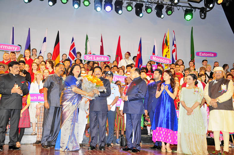 Governor Ch Vidyasagar Rao Inaugurated RYAN's 14th International Children's Festival